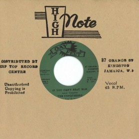 "(7"") THE CONQUERORS -IF YOU CAN'T BEAT HIM / I'LL FOLLOW HIM"