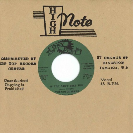 """(7"""") THE CONQUERORS -IF YOU CAN'T BEAT HIM / I'LL FOLLOW HIM"""