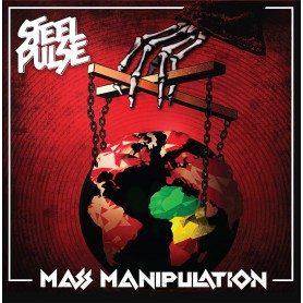 (2xLP) STEEL PULSE - MASS MANIPULATION