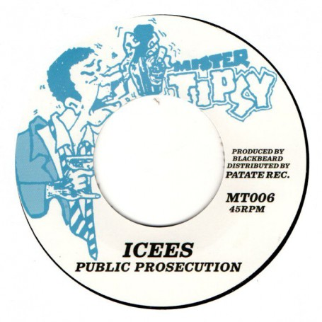 "(7"") ICEES - PUBLIC PROSECUTION / RING CRAFT POSSE - VERSION"