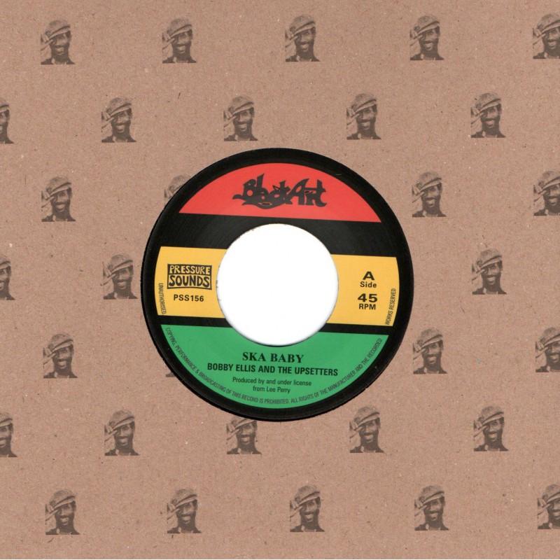 "(7"") BOBBY ELLIS AND THE UPSETTERS - SKA BABY / SKA VERSION"