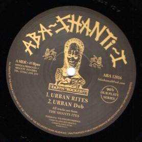 "(12"") THE SHANTI-ITES - URBAN RITES / REJOICE"