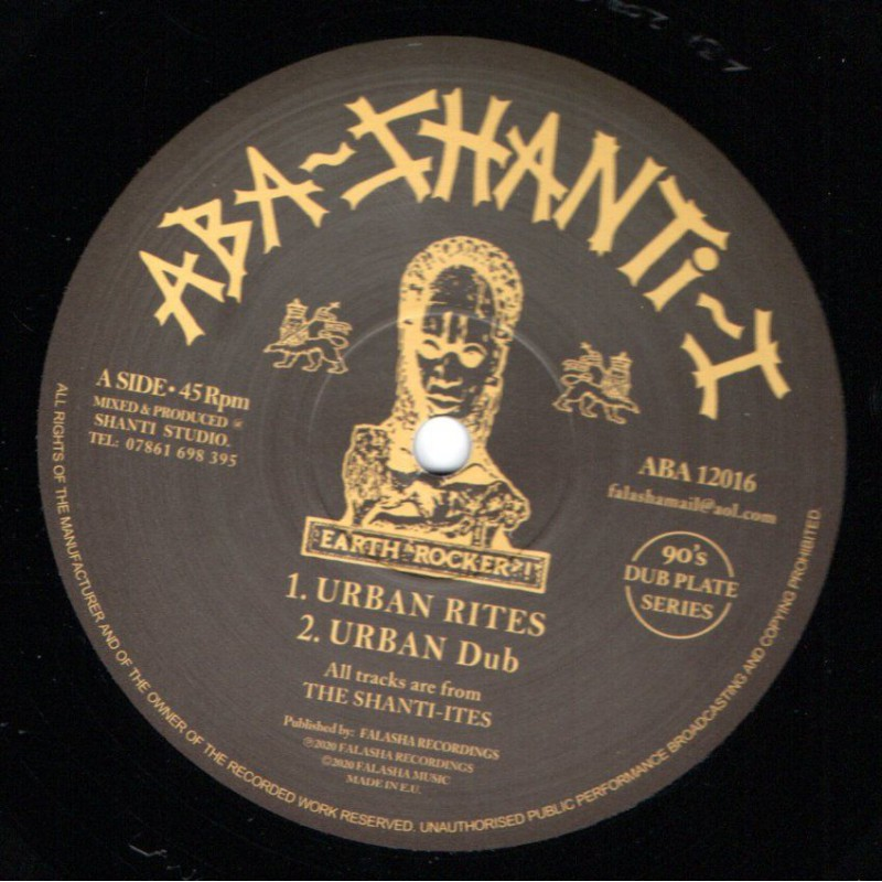 "(12"") THE SHANTI-ITES - URBAN RITES / REJOICE"