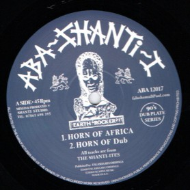 "(12"") THE SHANTI-ITES - HORN OF AFRICA / LIGHTENING"