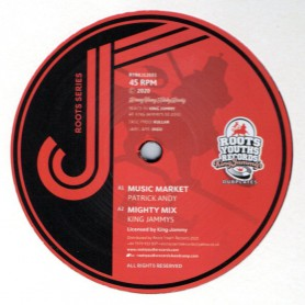 "(12"") PATRICK ANDY - MUSIC MARKET / KING JAMMY - KULLAR'S MARKET MIX"