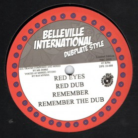"(10"") RAS MYKHA & MEETS MR ZEBRE - RED EYES / REMEMBER"