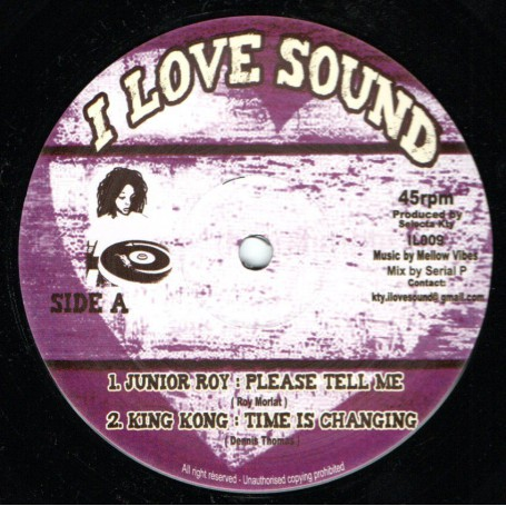 "(12"") JUNIOR ROY - PLEASE TELL ME / CLAIR ANGEL - WATCH YOUR COMPANY"
