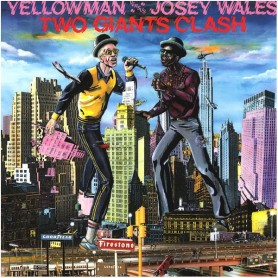 (LP) YELLOWMAN & JOSEY WALES - TWO GIANTS CLASH