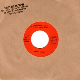 """(7"""") KEITH & TEX - GOODBYE BABY / WHAT KIND OF FOOL"""