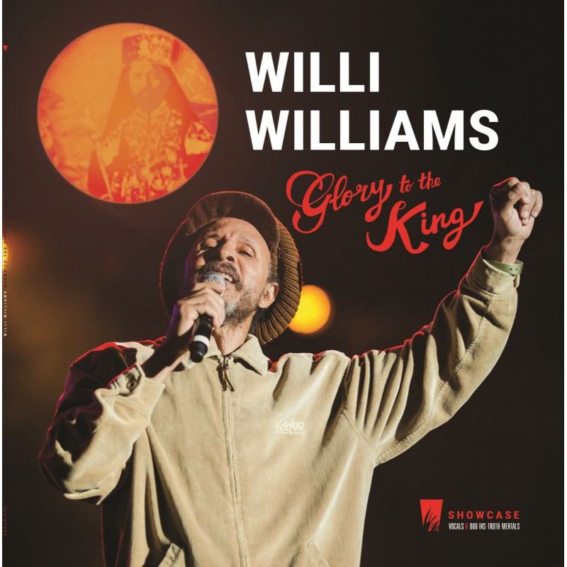 (LP) WILLI WILLIAMS - GLORY TO THE KING