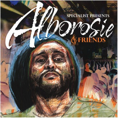 (LP) SPECIALIST PRESENTS ALBOROSIE & FRIENDS : ALBOROSIE, JAH CURE, BLACK UHURU, MICHAEL ROSE, ETC