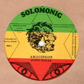 """(12"""") BUNNY WAILER - AMAGIDEON / AMAGIDEON DUB"""