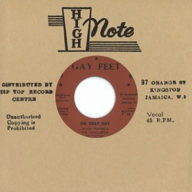 """(7"""") THE CONQUERERS - ON THAT DAY / HERE I STAND"""