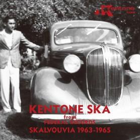 (LP) VARIOUS - KENTONE SKA FROM FEDERAL RECORDS : SKALVOUVIA 1963-1965