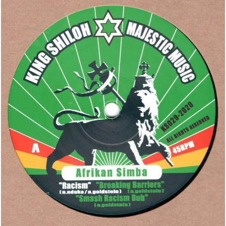 """(12"""") AFRIKAN SIMBA - RACISM / HAVE NO FEAR"""