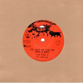 "(7"") GENE RONDO & THE CIMARONS - YOU SAID YOU LOVE ME MORE & MORE / DUB ME MORE & MORE"