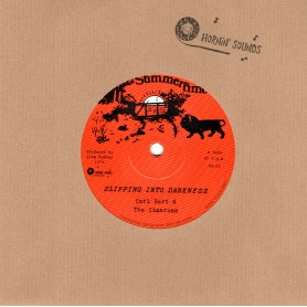 "(7"") CARL BERT & THE CIMARONS - SLIPPING INTO DARKNESS / DUBING INTO DARKNESS"