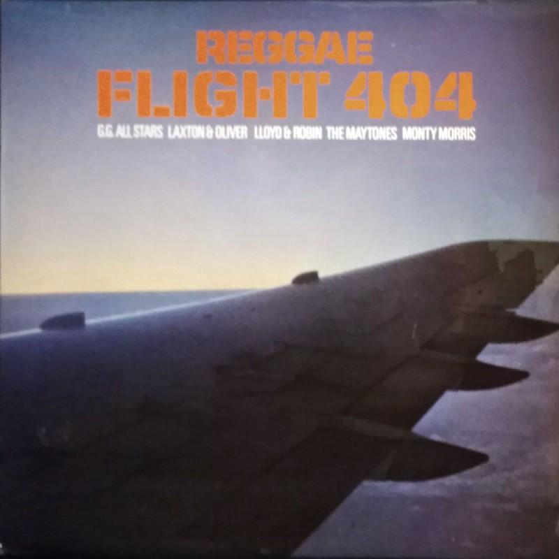 (LP) VARIOUS - REGGAE FLIGHT 404