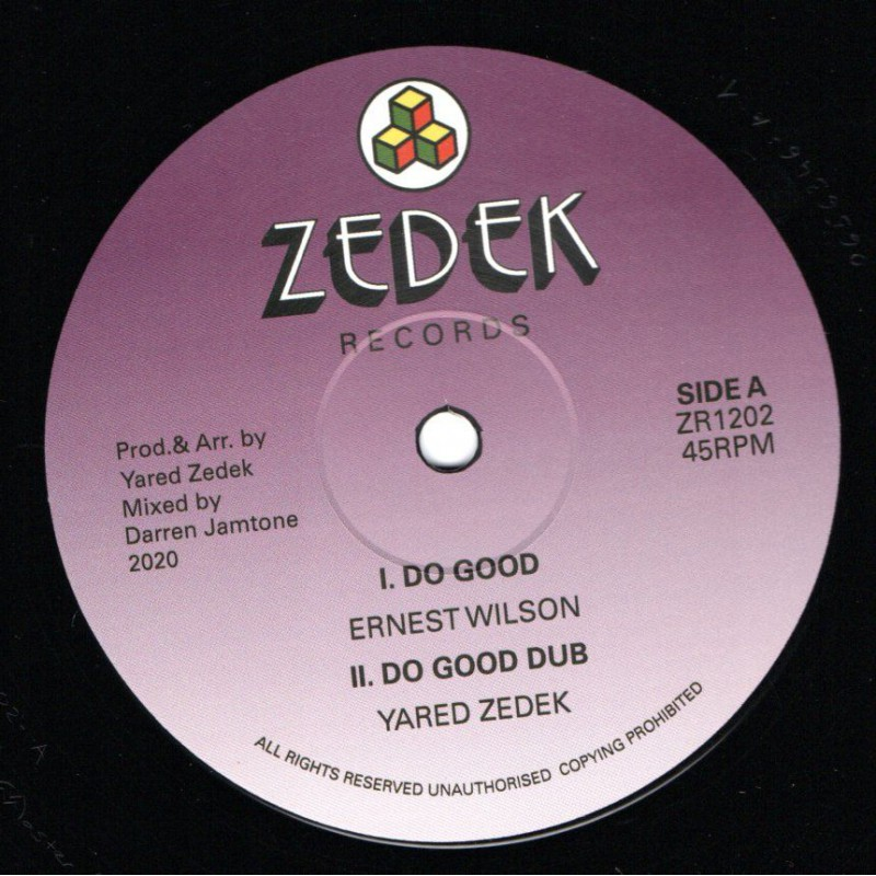 """(12"""") ERNEST WILSON - DO GOOD / HAROLD WOLTERS - FARWEST STEP"""