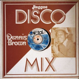 """(12"""") DENNIS BROWN - SILHOUETTES / HOW COULD I LET YOU GET AWAY"""