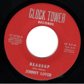 "(7"") JOHNNY LOVER - HEADCUP / GLEN ADAMS - ECHO"