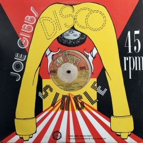 """(12"""") DENNIS BROWN & BIG YOUTH - RUNNING UP AND DOWN / JOE GIBBS & THE PROFESSIONALS - TAKE HEED BROTHER"""