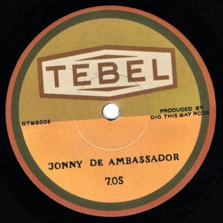 "(7"") JONNY DE AMBASSADOR - 7.05 / KRABAH - 7.05 DUB"