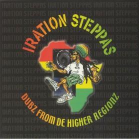 (2xLP) IRATION STEPPAS - DUBZ FROM DE HIGHER REGIONZ