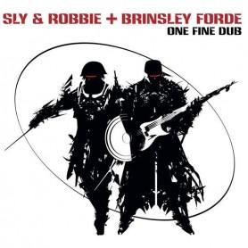 (LP) SLY & ROBBIE + BRINSLEY FORDE - ONE FINE DUB