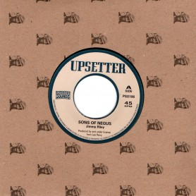 """(7"""") JIMMY RILEY & LEE PERRY - SONS OF NEGUS / UPSETTER - KINGDOM OF DUB"""