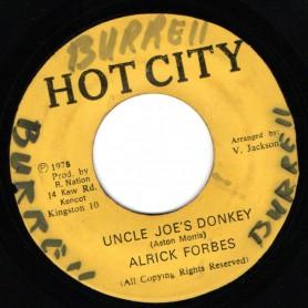 "(7"") ALRICK FORBES - UNCLE JOE'S DONKEY / DONKEY SKANK"