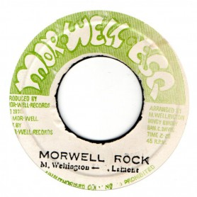 "(7"") THE MORWELLS - MORWELL ROCK / MORWELLS THEME"