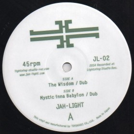 "(12"") JAH LIGHT - THE WISDOM / MYSTIC INNA BABYLON"