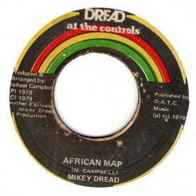 "(7"") MIKEY DREAD - AFRICAN MAP / BOND STREET CORNER"
