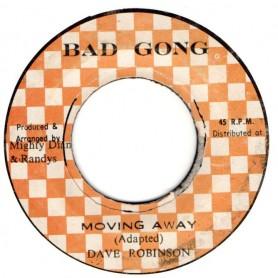 "(7"") DAVE ROBINSON - MOVING AWAY / MOZAMBIQUE"