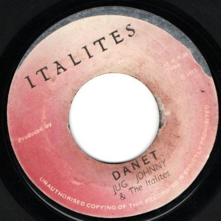 "(7"") JUG JOHNNY & THE ITALITES - DANET / VERSION"