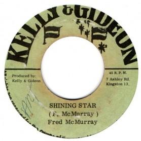 "(7"") FRED McMURRAY - SHINING STAR / SHINING DUB"