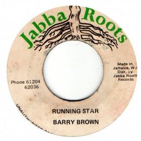 "(7"") BARRY BROWN - RUNNING STAR / VERSION"