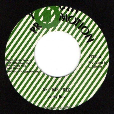 "(7"") LENKY ROY - SET ME FREE / VERSION"