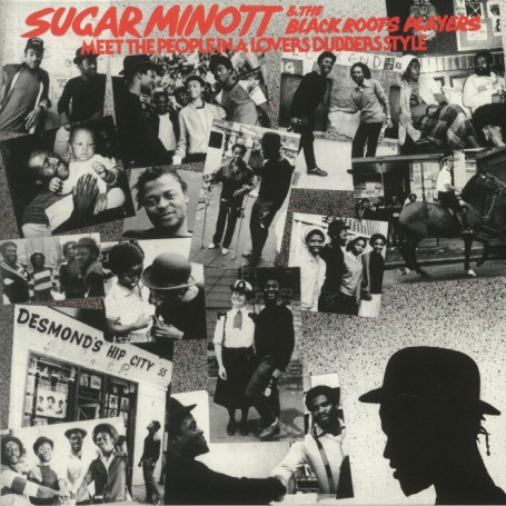 (LP) SUGAR MINOTT & THE BLACK ROOTS PLAYERS - MEET THE PEOPLE IN A LOVERS DUBBERS STYLE