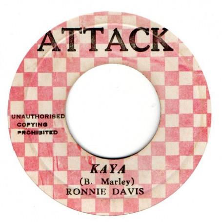 "(7"") RONNIE DAVIS - KAYA / AGGROVATORS - A CRUCIAL VERSION"