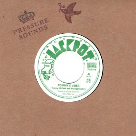 "(7"") TOMMY MCCOOK AND THE AGGROVATORS - TOMMY'S VIBES / VERSION"