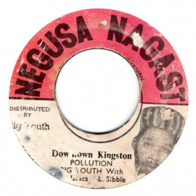 "(7"") BIG YOUTH WITH GREGORY ISAACS & LEROY SIBBLES - DOWN TOWN KINGSTON / HOT STOCK"
