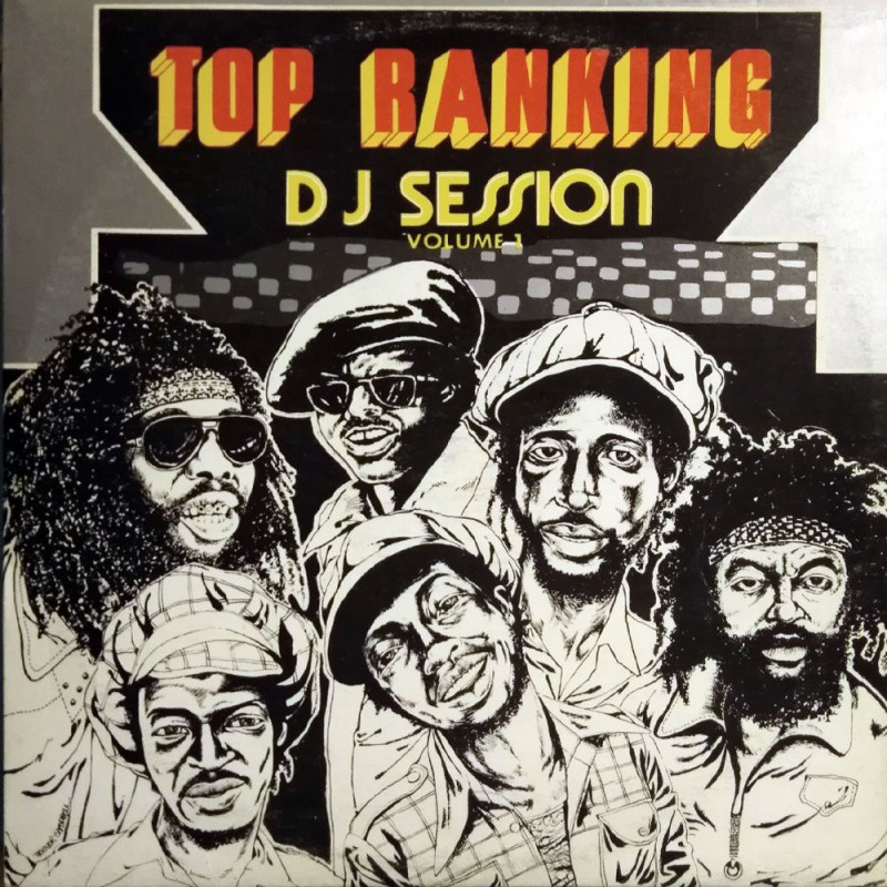 (LP) VARIOUS ARTISTS - TOP RANKING DJ SESSION VOLUME 1