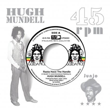 "(7"") HUGH MUNDELL - RASTA HAVE THE HANDLE / ROOTS RADICS - DANGEROUS MATCH TWO"
