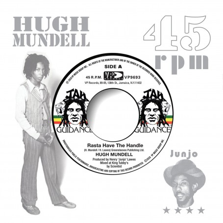 "(7"") HUGH MUNDELL - RASTA HAVE THE HANDLE / ROOTS RADICS - DANGEROUS MATCH TWOB"