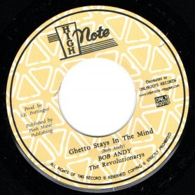 "(7"") BOB ANDY - GHETTO STAYS IN THE MIND / THE REVOLUTIONARIES - GHETTO DUB"