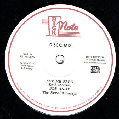 "(12"") BOB ANDY - SET ME FREE / THE REVOLUTIONARIES - MOVEMENTS"