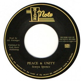 "(7"") SONYA SPENCE - PEACE & UNITY / VERSION"