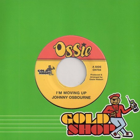 """(7"""") JOHNNY OSBOURNE - I'M MOVING UP / VERSION"""